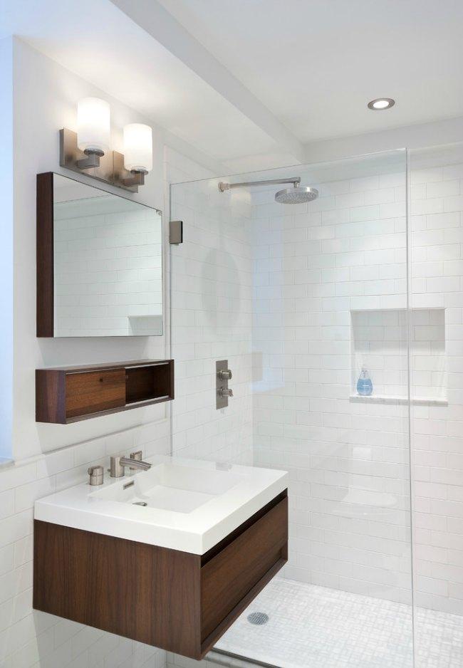 8 ba os con plato de ducha for Cuartos de bano pequenos con ducha