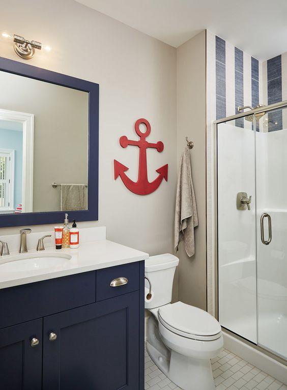 Baños estilo marinero