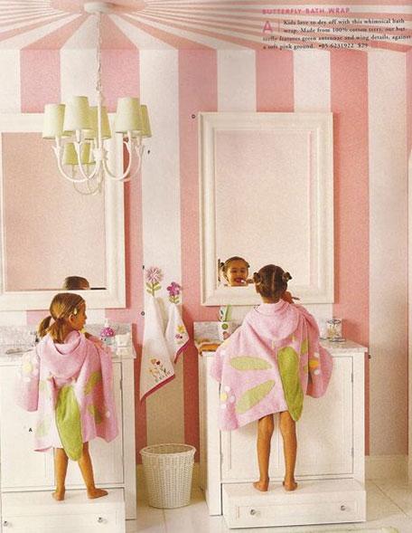 mueble para un baño infantil