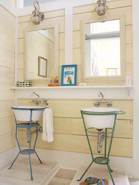 Ideas para decorar baños provenzales