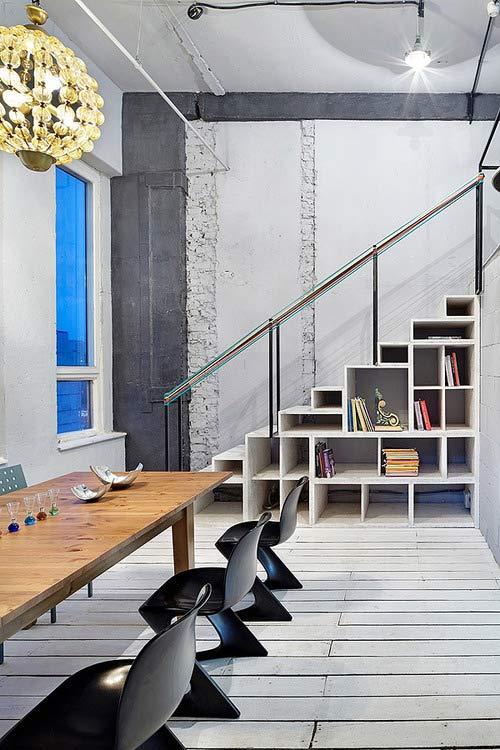 Muebles bajo escaleras for Muebles bajo escalera fotos