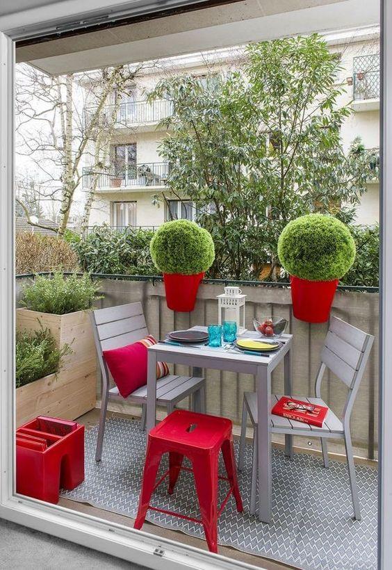 Balcones peque os inspiraci n decoraci n hogar for Decoracion hogares pequenos