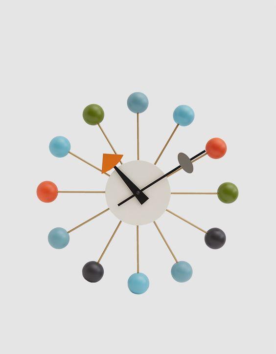 Relojes de pared de diseño: George Nelson * Iconos de la ...