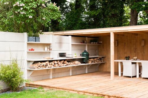 Cocina de exterior - Cocinas de exterior con barbacoa ...