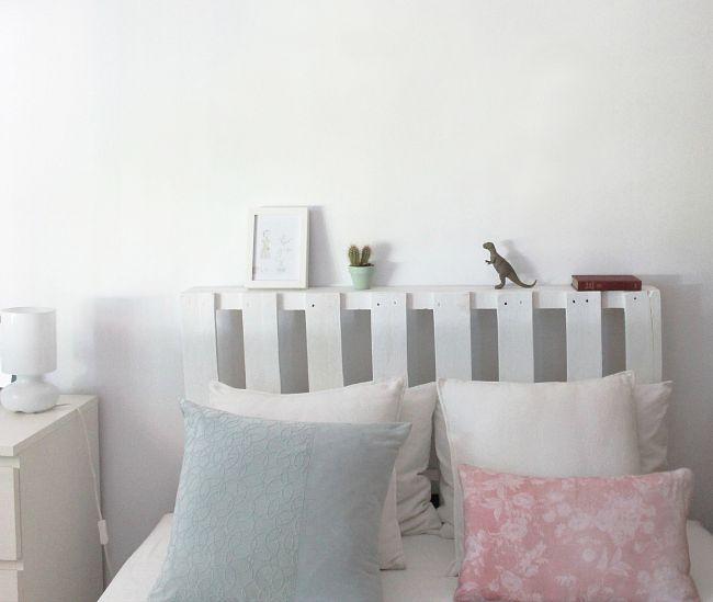 Cabeceros con palets ideas - Cabeceros de cama con palets ...
