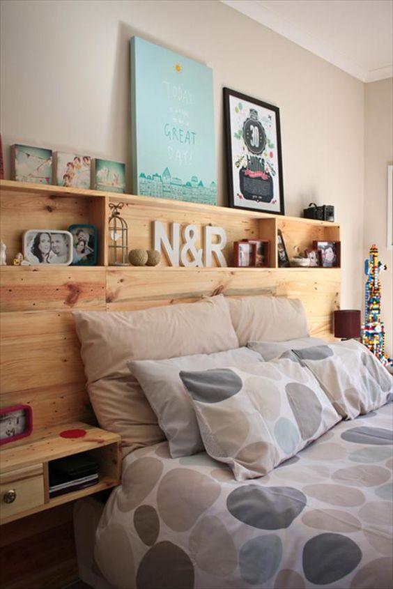Palet cabezal de cama