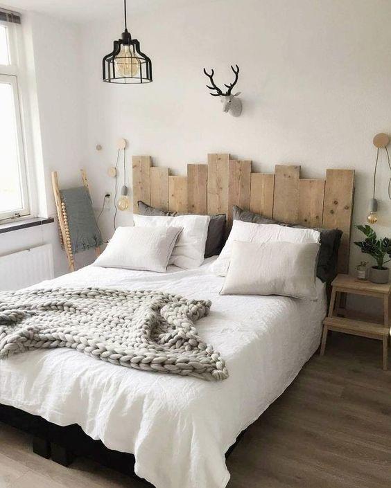 cabeceros de cama hechos con palets