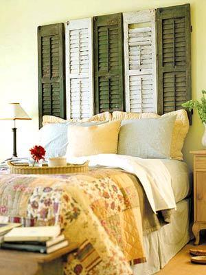 Ideas de cabeceros de cama originales