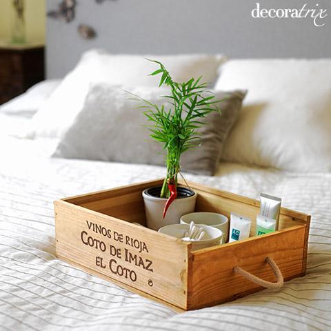 M s ideas para reciclar una caja de vino - Cajas de vino para decorar ...