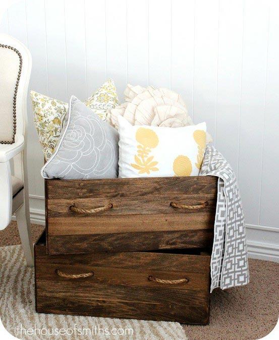 17 ideas geniales para reciclar cajones de muebles - Tiradores decorativos ...