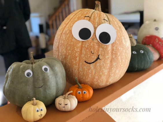 Decorar calabazas Halloween 2019