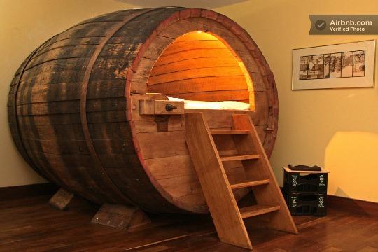 cama-barril