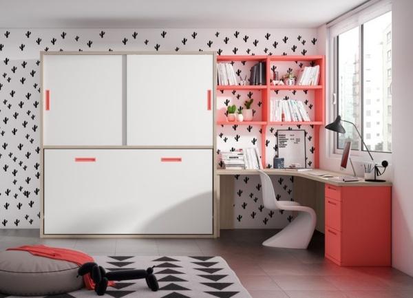 Ahorrar espacio habitaciones juveniles