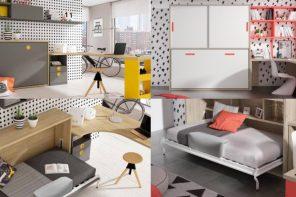 Camas abatibles, la solución a los dormitorios pequeños