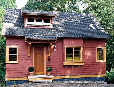 Casa ecológica y bonita