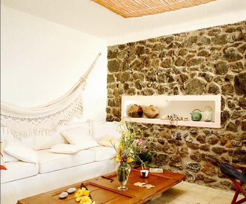 Salon r stico ideas para decorar for Decoracion casa rustica ideas
