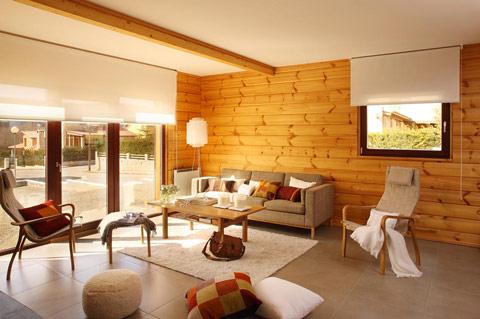 Casas de madera de lujo - Fotos de casas de madera por dentro ...