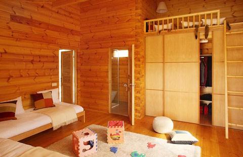 Casas de madera de lujo - Decoracion casa de madera ...