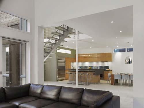 Casa de dise o en fire island - Casas minimalistas por dentro ...