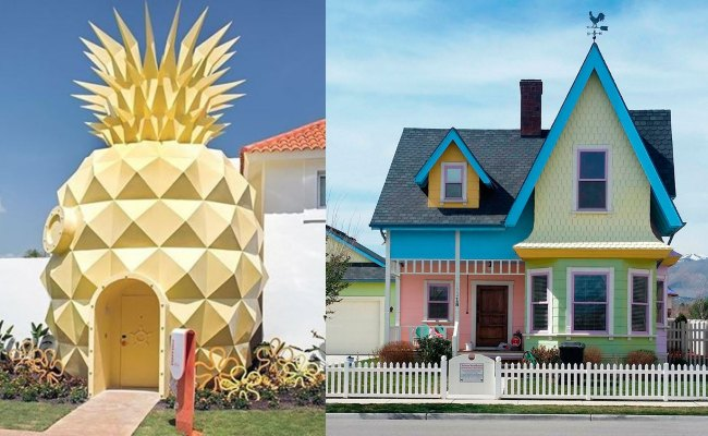 Casas que no creerás que existen en la vida real