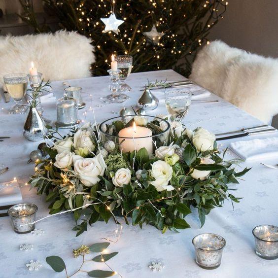 Arreglos florales para Navidad
