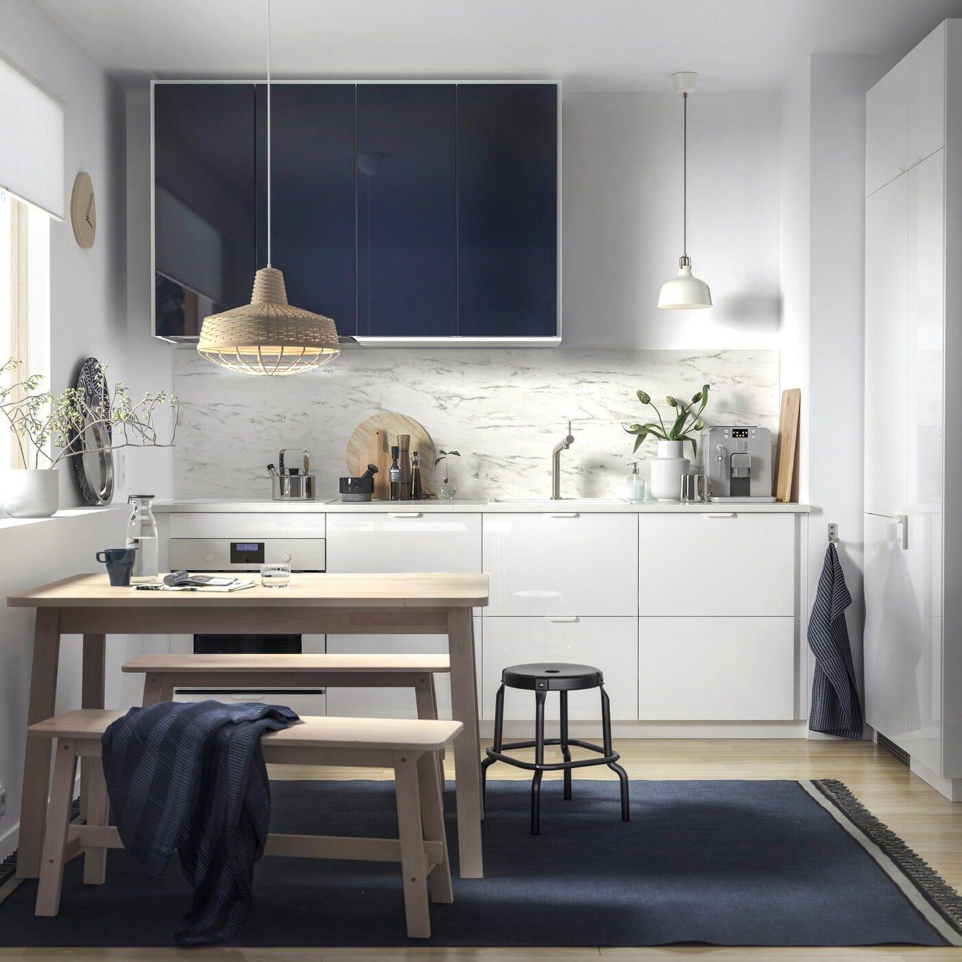 Cocinas minimalistas Ikea
