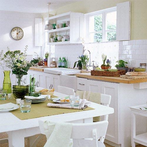 Fotos de cocinas con muebles blancos - Muebles coloniales blancos ...