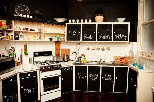 Ideas cocinas decorar las puertas de los muebles - Ideas para muebles de cocina ...