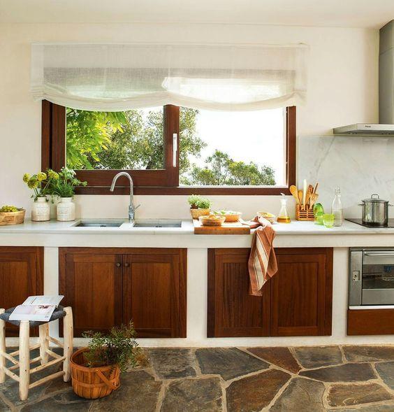Fotos de cocinas r sticas decoraci n e im genes de cocinas - Muebles cocinas rusticas ...