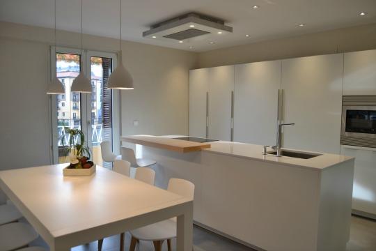 Proyecto cocina blanca y luminosa
