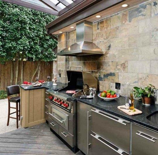 Inspiracion cocinas de verano for Cocinas para patios