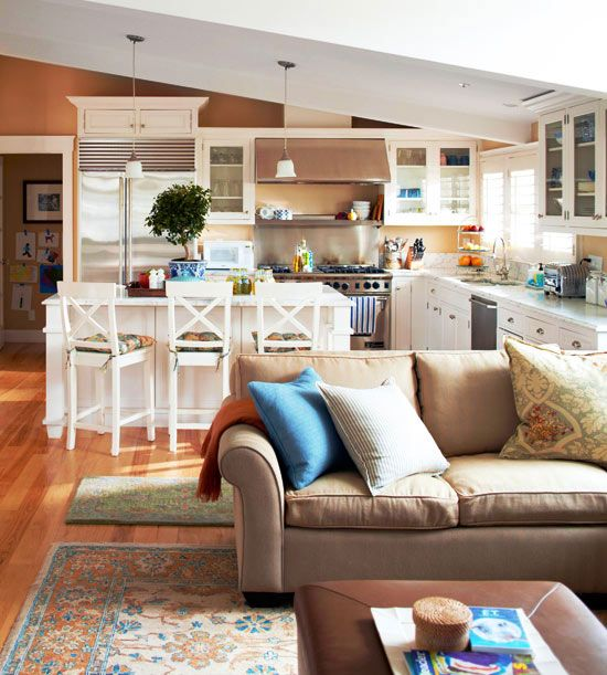 20 Living Room And Kitchen Combo Ideas 17760