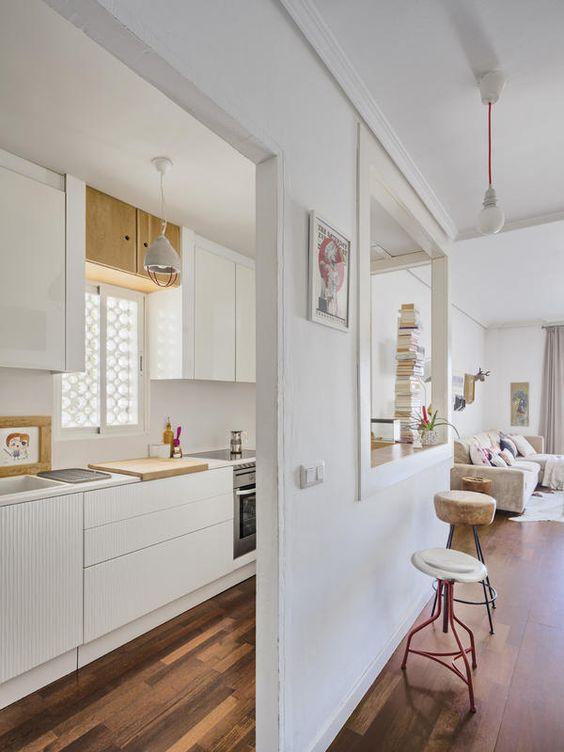 Cocinas americanas acristaladas decoraci n hogar for Modelos de cocinas modernas americanas