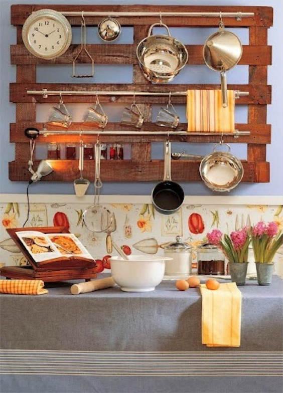 Decorar cocinas con palets