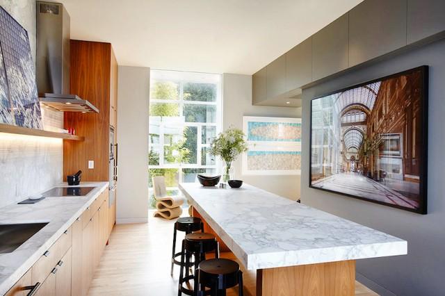 Tendencias en cocinas 2016 - Marmol en cocina ...