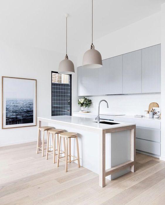 Cocinas de estilo minimalista