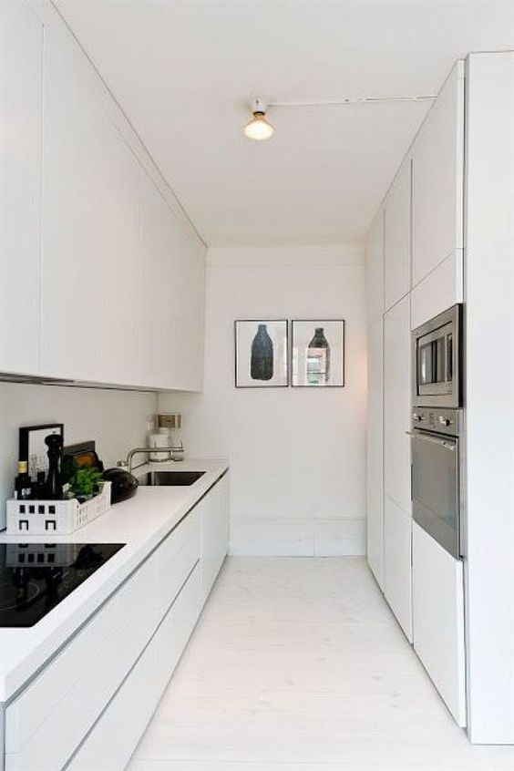 Cocinas minimalistas pequeñas