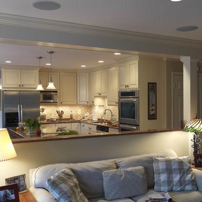 Separar con medios tabiques en la cocina - Separar cocina de salon ...