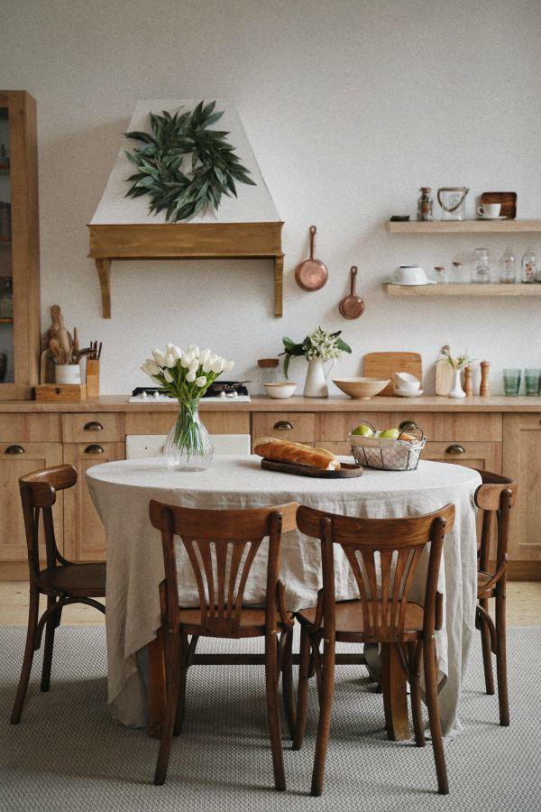Colores marrones para pintar tu cocina