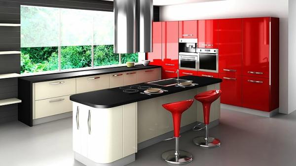 Rojos para pintar tu cocina