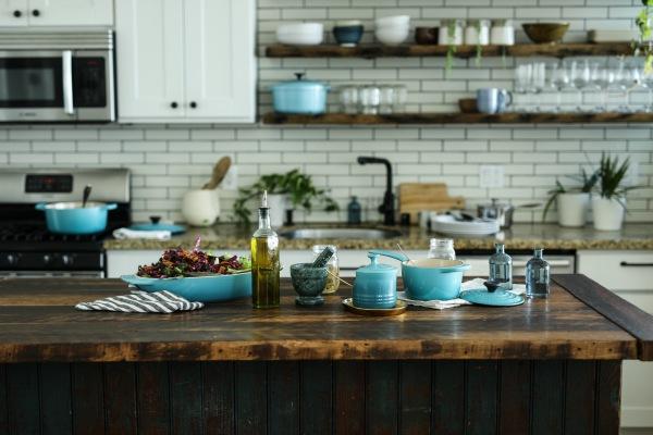 Azules para la cocina