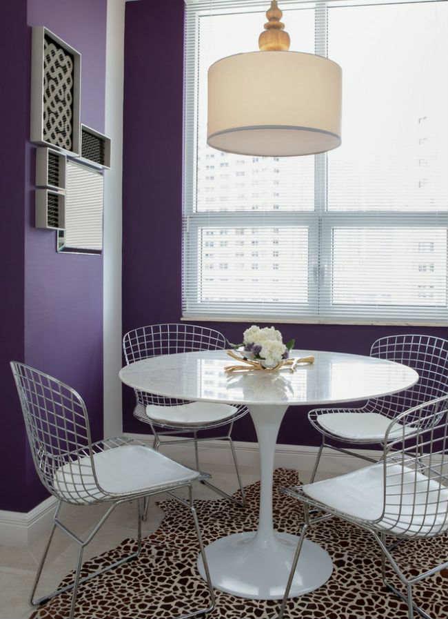 Comedores Ultra Violet Pantone 2018