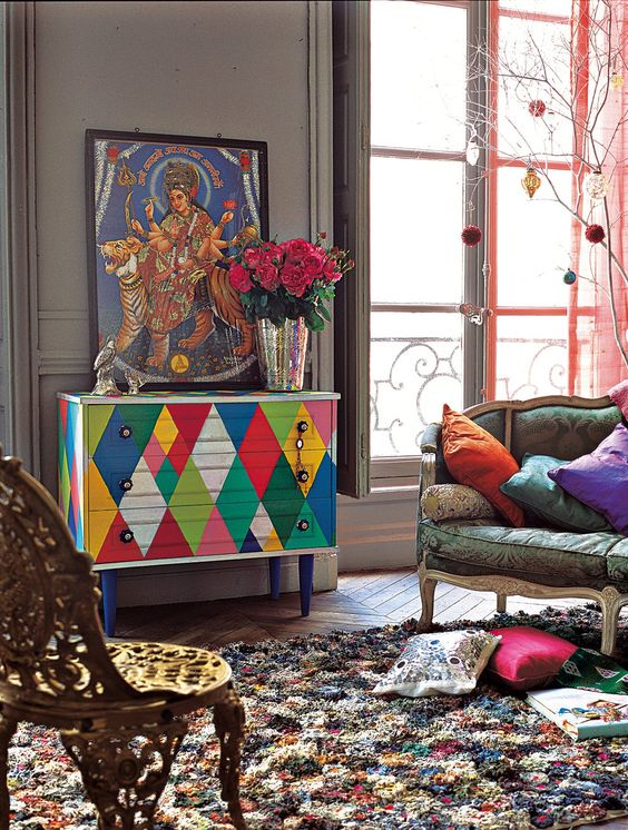 Renovar una cómoda con pintura