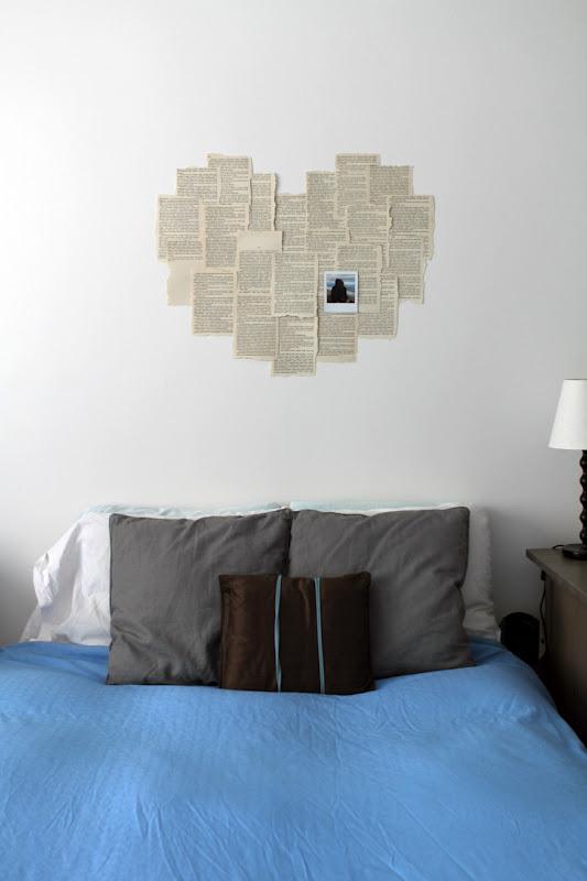 DIY Corazón en la pared