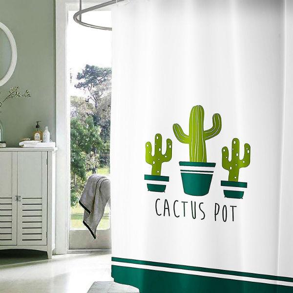 Cortinas de ducha originales: cactus