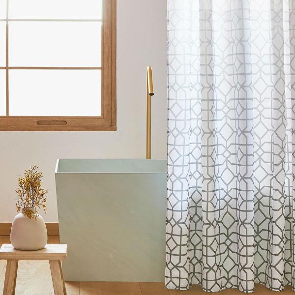 9 cortinas de ducha originales que transformar n tu ba o - Zara home bagno ...