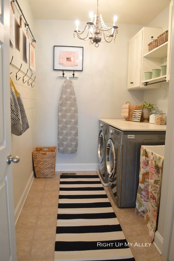 8 cuartos de lavado y plancha s per pr cticos - Cuarto de plancha ...