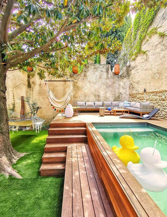 Césped artificial piscinas