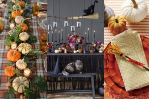 Decoración mesa Halloween