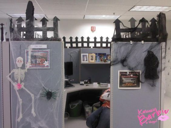 Ideas para decorar la oficina en Halloween